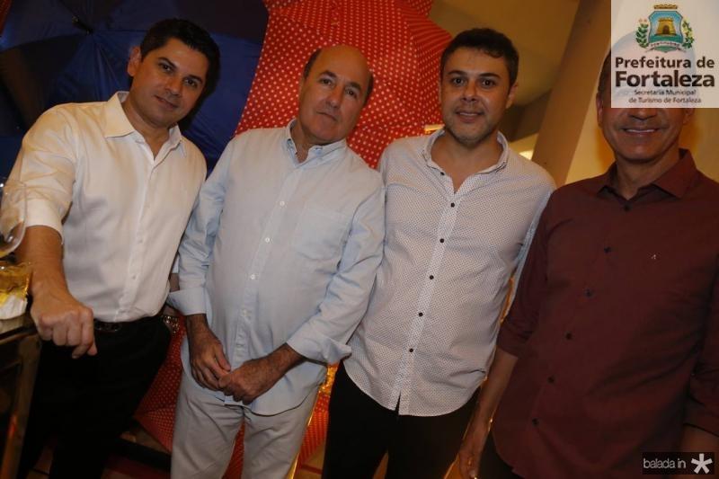 Pompeu Vasconcelos, Silvio Frota, Gustavo Cruz e Regis Medeiros 1