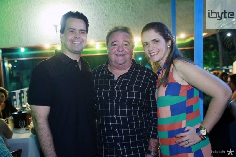 Wilson, Chiquinho e Livia Aragao