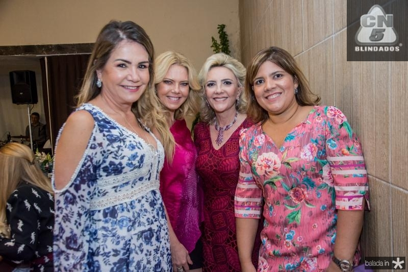 Ana Luiza Barreira, Branca Mourão, Graça da Escossia e Gisela Vieira