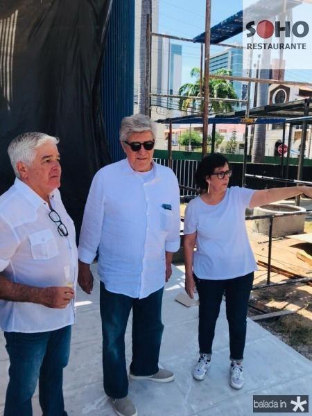 Garcez Filho, Amarílio Macêdo e Neuma Figueiredo