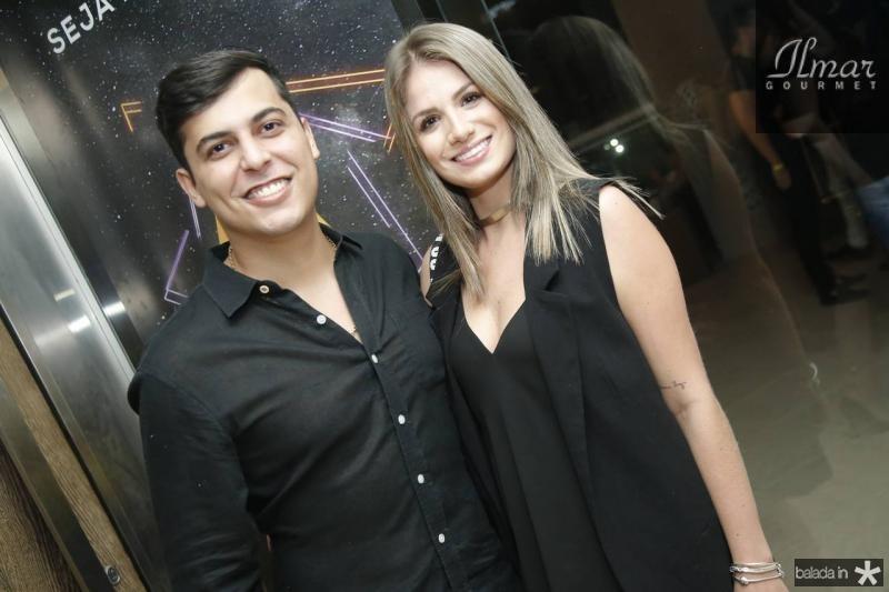 Victor Veras e Larissa Furkim