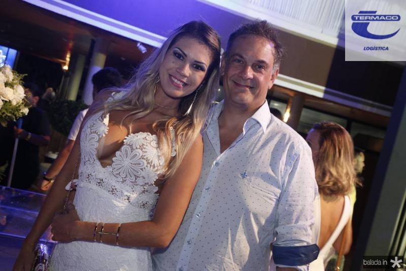 Aline Diniz e Ronald Roland