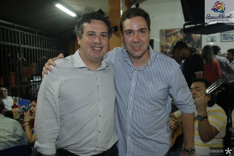 Samuel Dias e Eduardo Bismarck
