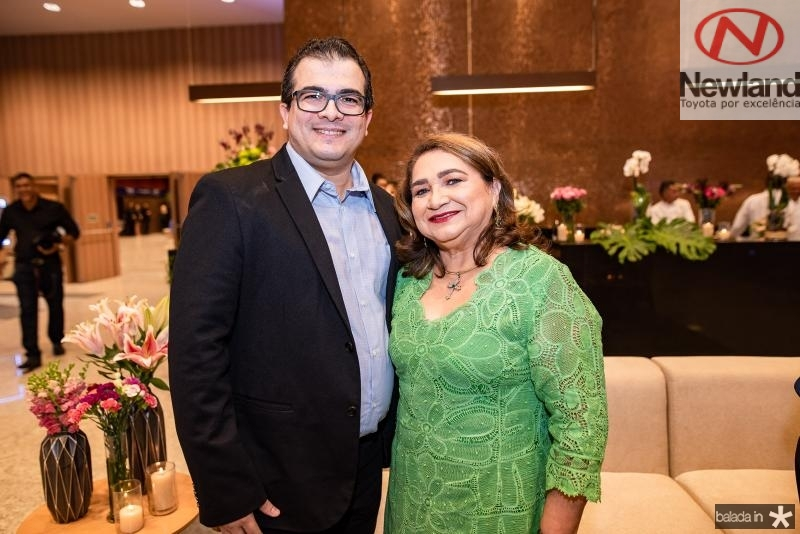 Edigar Cruz e Maria Vital