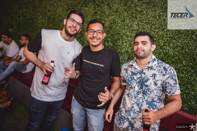 Marcelo Oliveira, Lucas Lima, e Bruno Alves