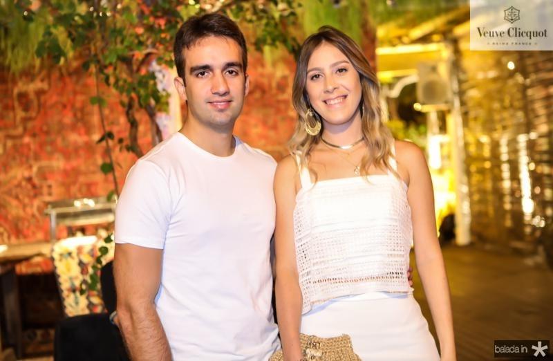 Lincon Martins e Talita Pontes
