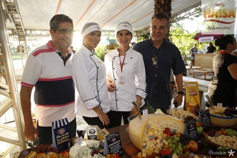 Joao Junior, Giovana Luna, Raissa Mendes e Cairba Cardoso