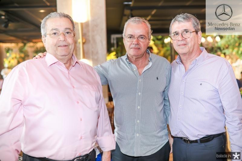 Meton Vasconcelos, Rui Guilhon e Marcio Tavora