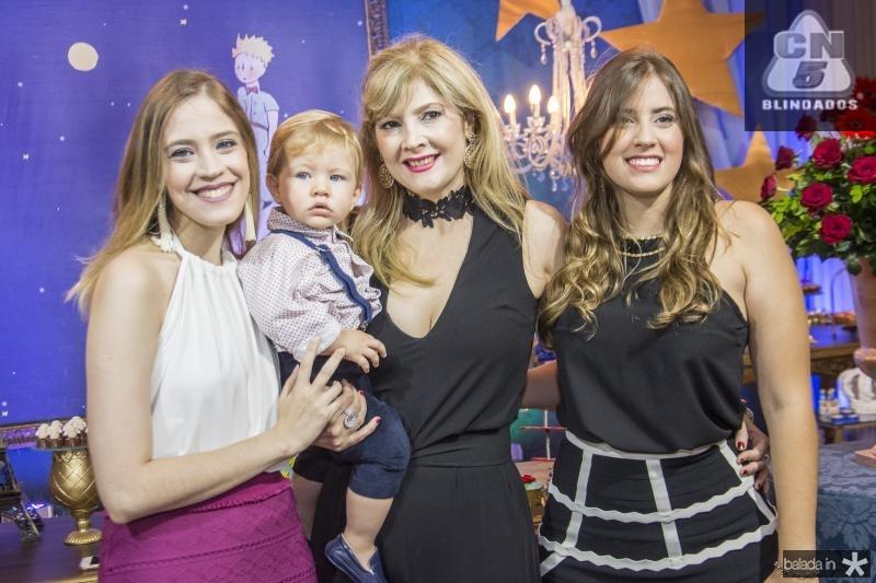 Priscila, Angela e Camila Bonorandi