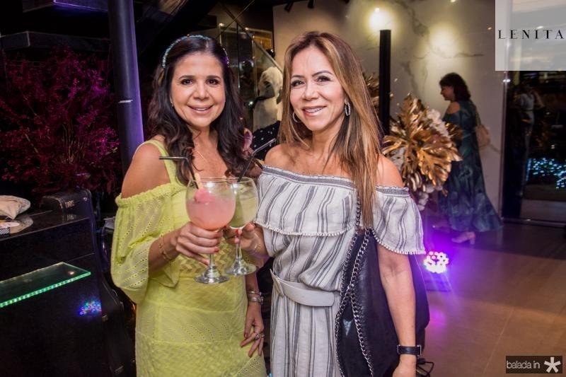 Maria Lucia Negrao e Sakie Brookes