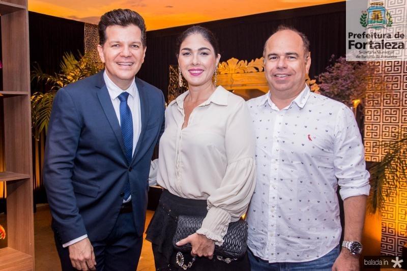 Gustavo Serpa, Izabela Fiuza e Marcio Menezes