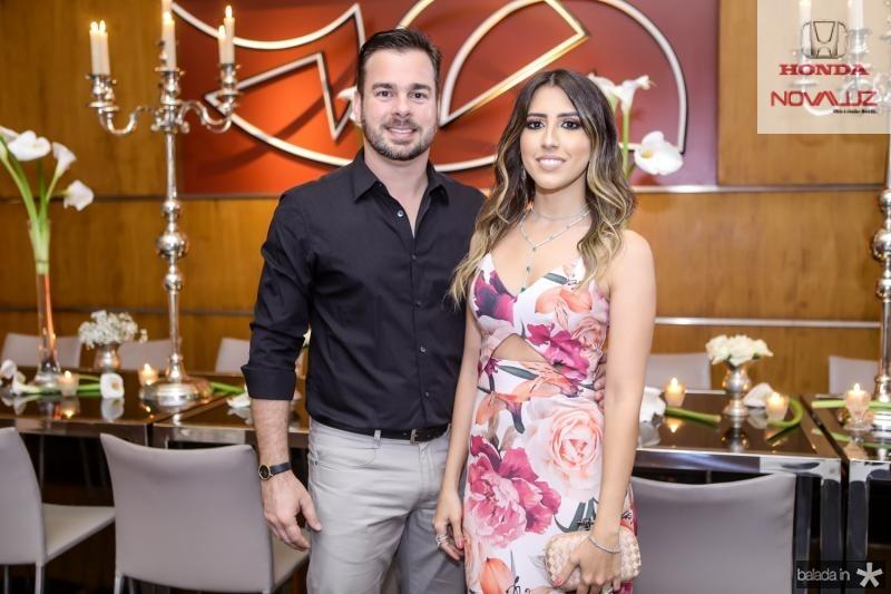 Leonardo e Tayra Aguiar