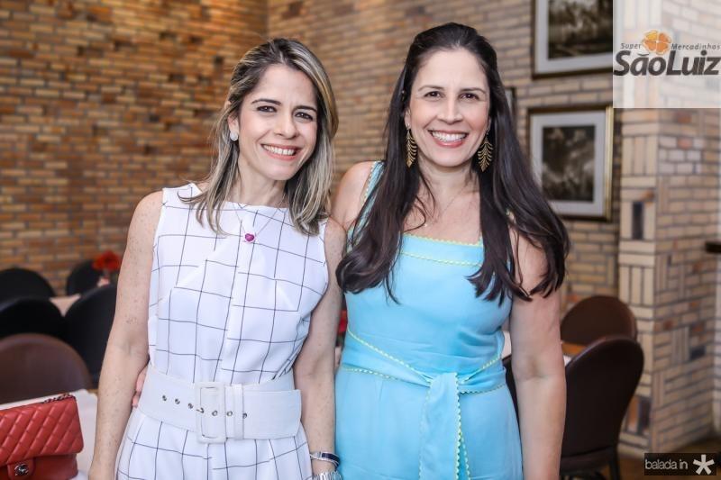 Carla Nogueira e Fabiola Rocha