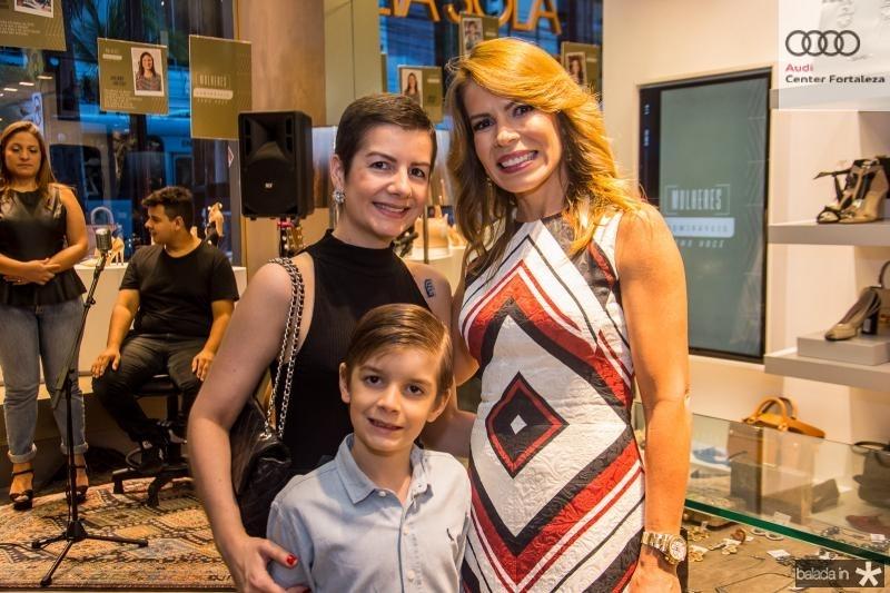 Renata Bastos, Arthur Bastos e Maira Silva