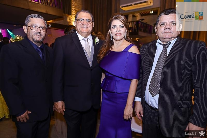 Junior Leite, Mauricelio e Philomena Araujo, Gentil Leite
