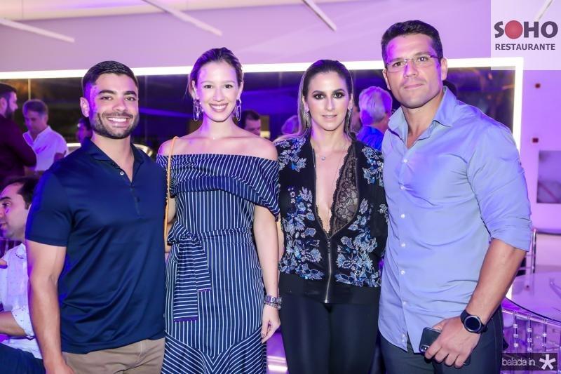 Cesar Romcy, Laura Sleiman, Karina Militao e Igor Soares