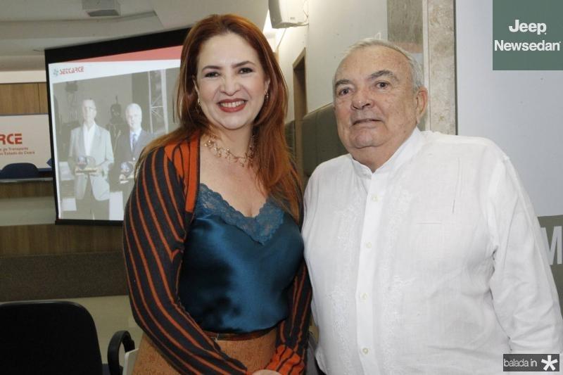 Enid Camara e Julio Santiago