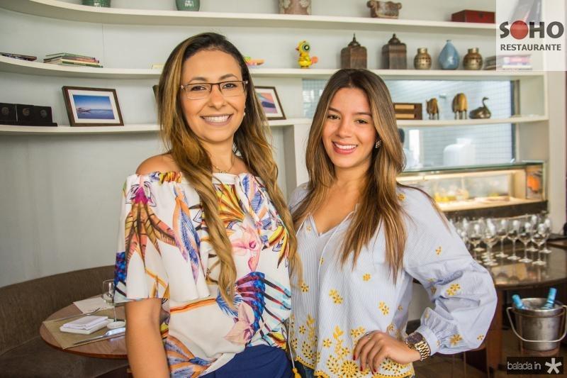Aline Nogueira e Camila Oliveira
