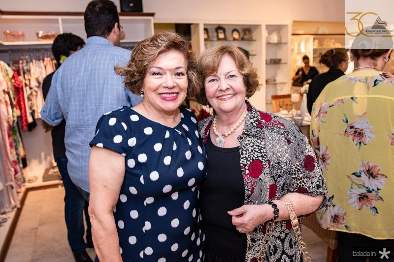 Ruth Teixeire e Neice Andrade