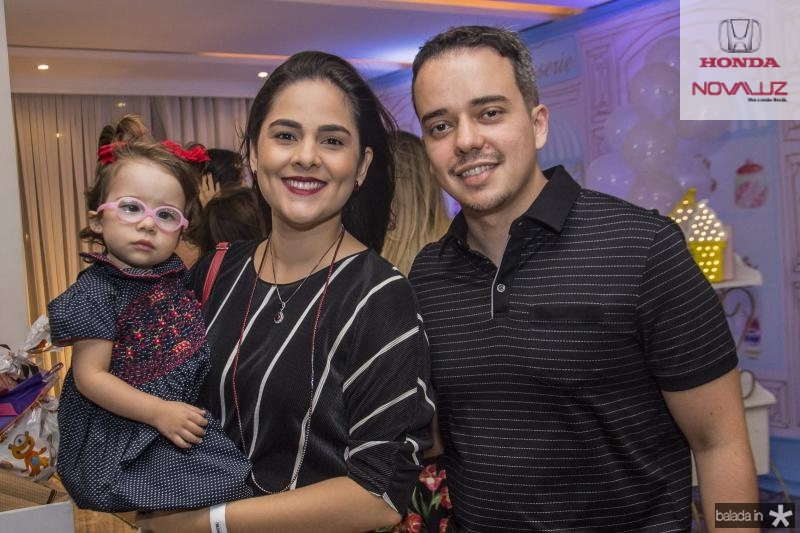 Maria Alice, Rayannna e Leonardo Cordeiro