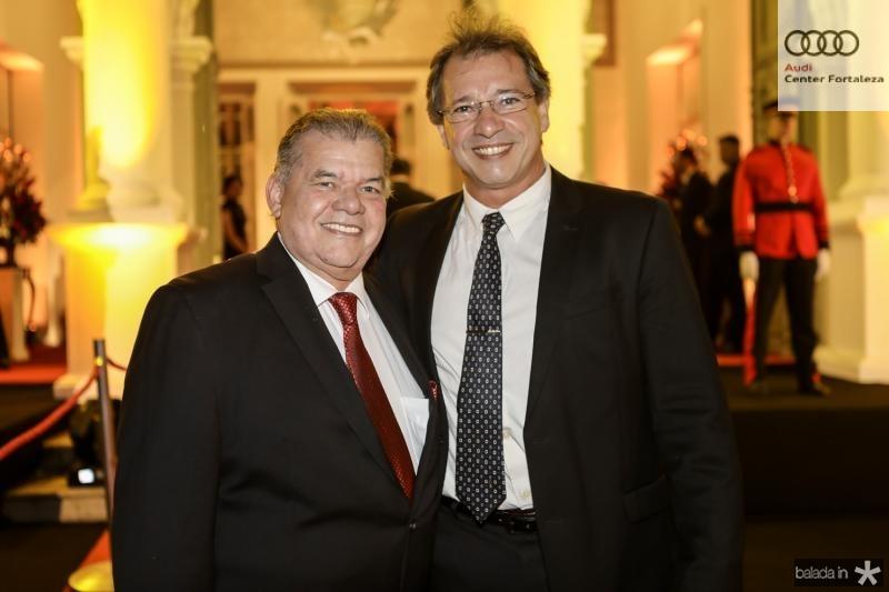 Carlos Juaçaba e Ronaldo Parente