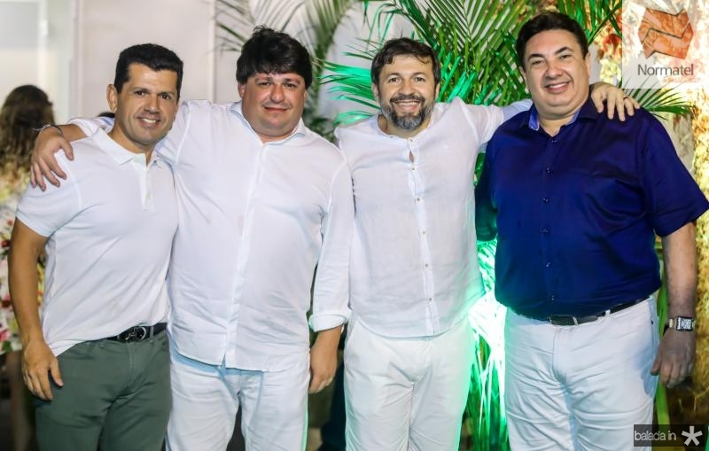 Erick Vasconcelos, George Lima, Elcio Batista e Marcos Dias Branco