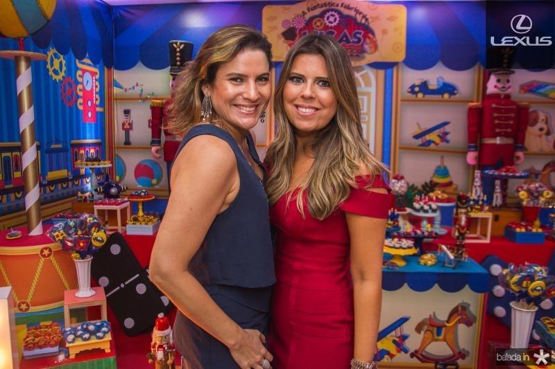 Luciana Borges e Marina Albuquerque