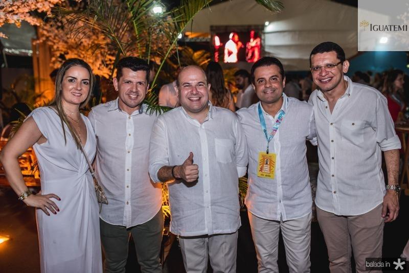 Raquel Vasconcelos, Erick Vasconcelos, Roberto Claudio,Halan Bringel e Renato