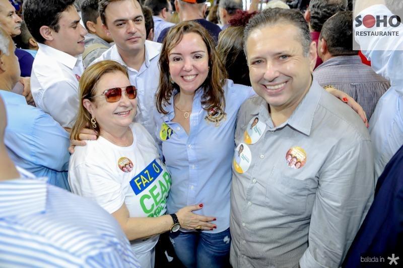 Mana Luna, Nicole Barbosa e Domindos Filho