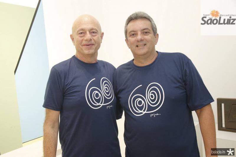 Demetrio Jereissati e Joaquim Guedes