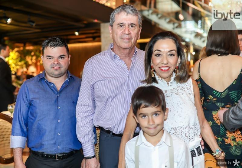 Igor, Marcio, Marcia e Joaquim Tavora