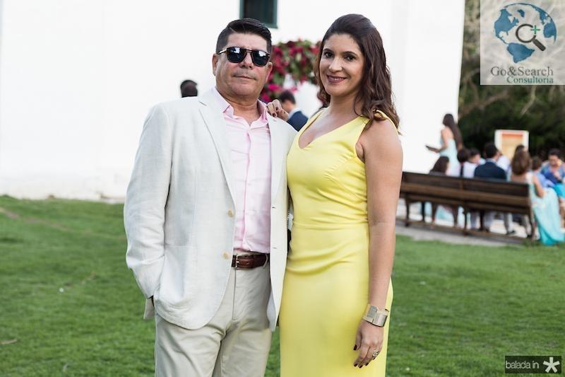Peter Ferreira e Polyana Lima