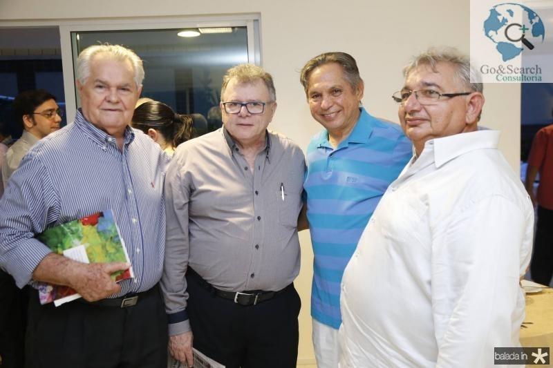 Leonardo Moura, Juarez Leitao, Antonio Cambraia e De Deus Sales