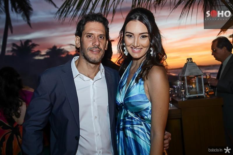 Andre Nogueira e Irina Felipe