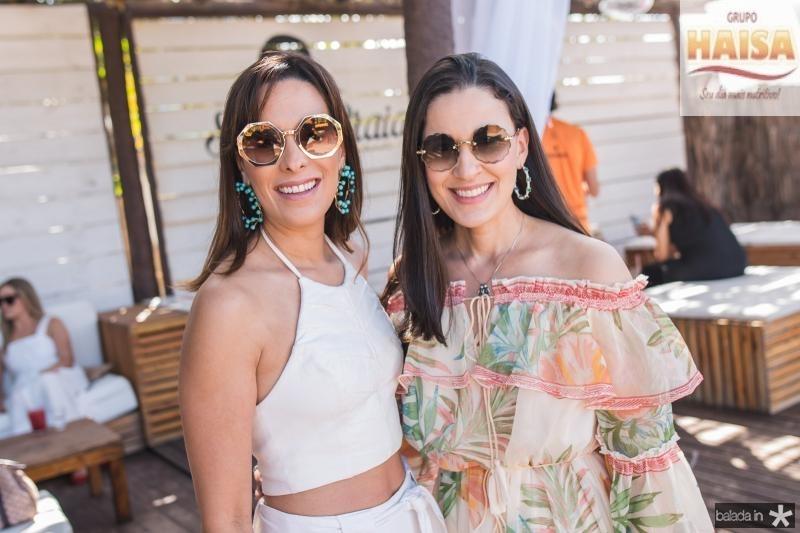 Rebeca Araujo e Giuliana Botelho