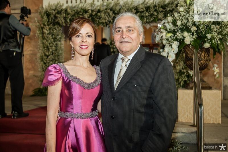 Karisia e Luis Pontes