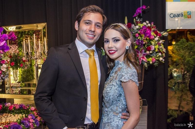 Ricardo Cavalcante e Natasha Dias Branco