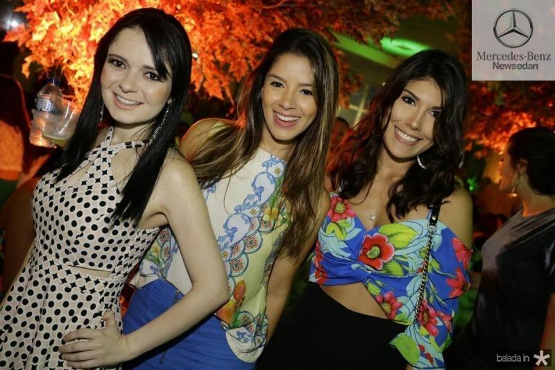 Luzia Portela, Camila Silva e Camila Bitta