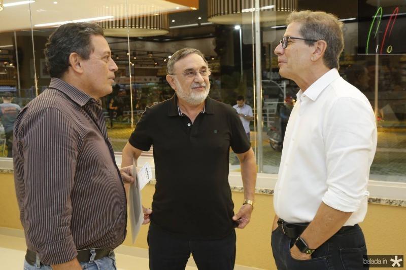 Roberto Saraiva, Joao Licinho e Severino Neto