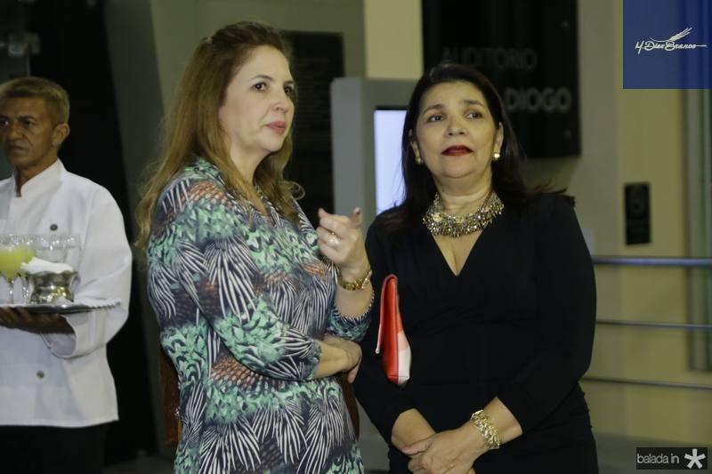 Enid Camara e Celina Castro Alves