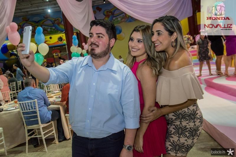 Lucas Freitas, Marjorie Xavier e Raquel barreto
