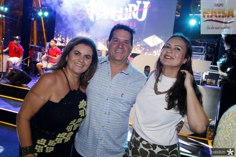 Islane Vercosa, Fabio Junior e Camila Nobre