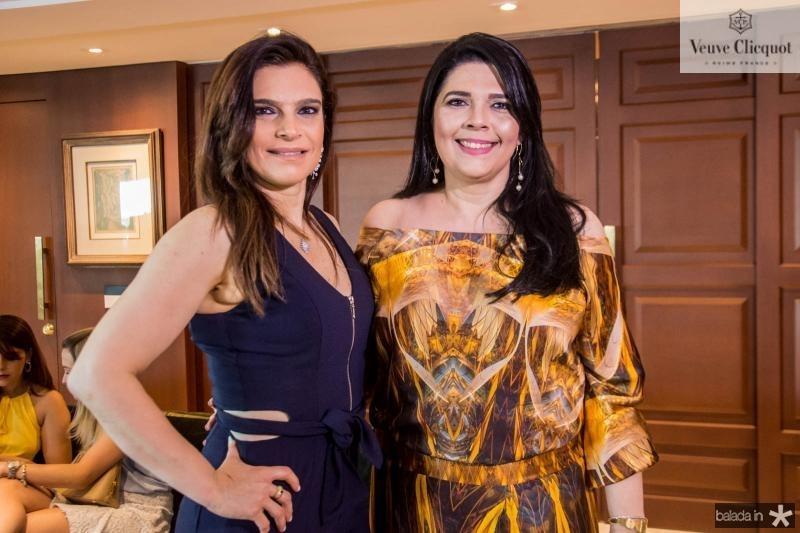 Fabiana Lustosa e Sellene Câmara