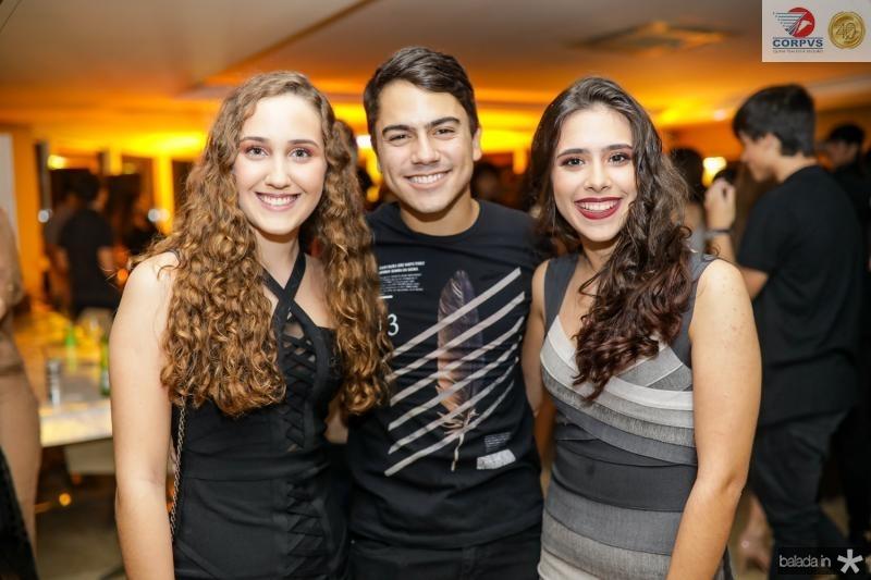 Beatriz Frota, Sergio e Cecilia Macedo