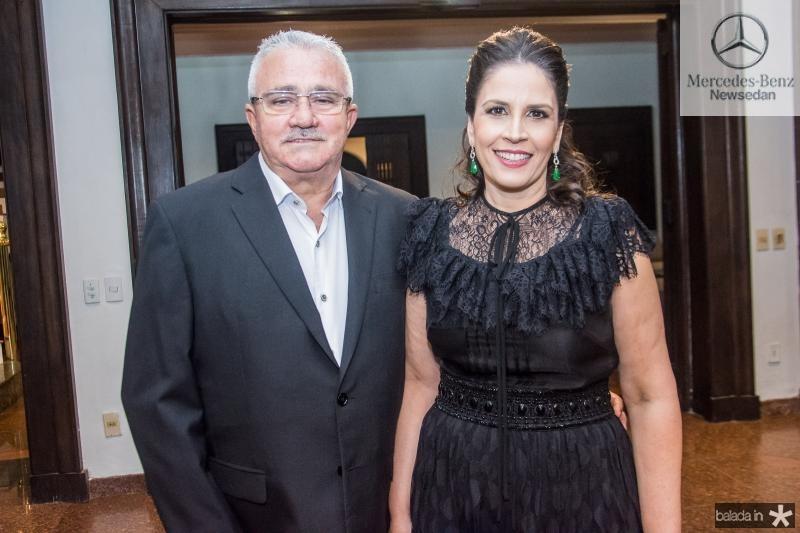 Alcimor Rocha e Fabiola Rocha