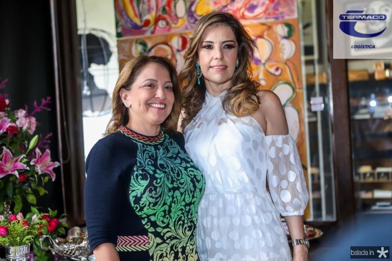 Liana Thomaz e Rosele Diogo