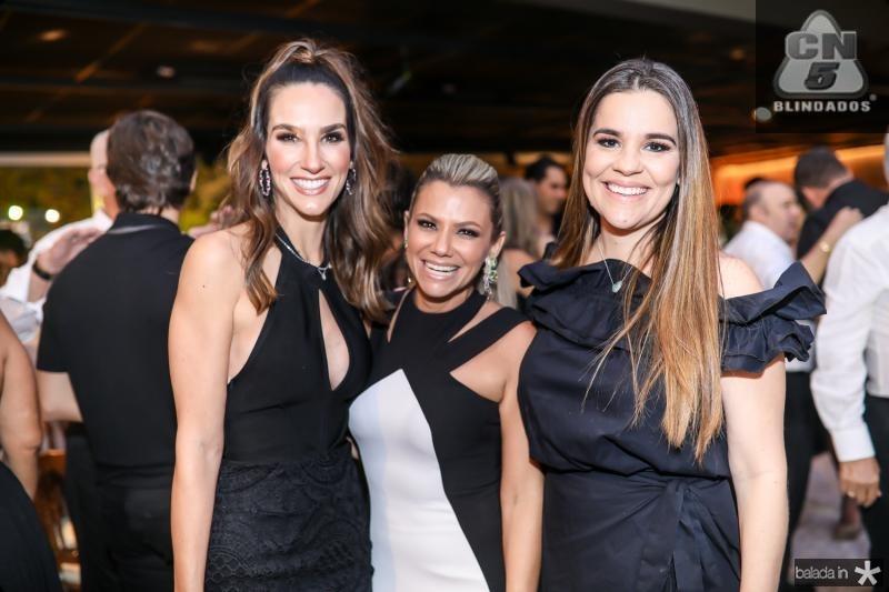 Marcela Carvalho, Vanessa Queiros e Ana Paula Domene