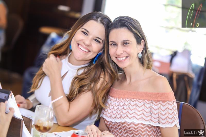 Ana Paula Domene e Thais Angelone