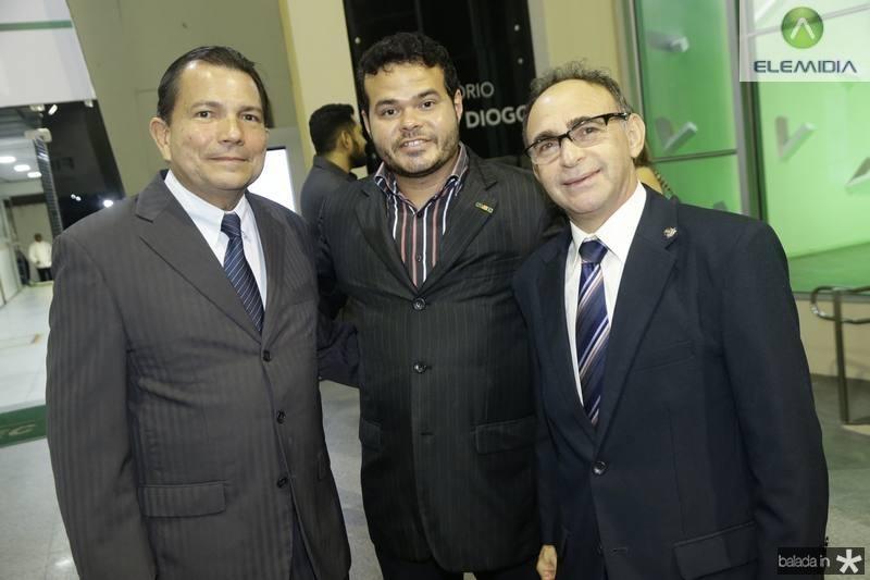 Fernando Castro Alves, Demetrius Jorge e Marcone Teles