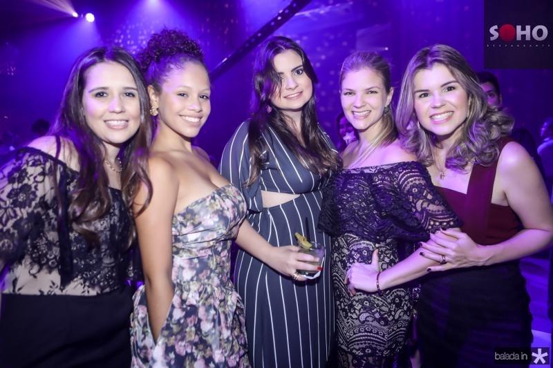 Naiana Carvalho, Isabela Silva, Livia Lima, Keila e Mirna Castelo Branco